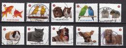 Gezeldschapsdieren - Used Stamps