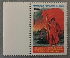 Benin 1985; World War II, Victory Of Soviet Union; MNH** VF; CV 80 Euro!! - WW2