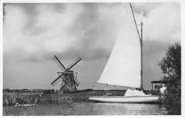 Windmolen Molen Windmill Moulin à Vent  Zeilsport  Zeilboot Waterloospolder Te Oudewetering ? Te Identificeren     L 659 - Windmolens