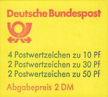 BRD MH 22 I T OZ, Postfrisch ** - Markenheftchen