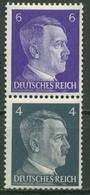 Deutsches Reich 1941 Hitler Zusammendruck Aus Rollen S 292 Postfrisch - Se-Tenant