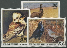 Korea (Nord) 1988 200 Jahre Kolonisation Aistraliens 2940/42 Postfrisch - Korea (Nord-)