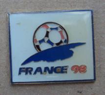 Pin's Sport Football 015, Mondial France 98 - Football