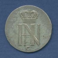 Westfalen Königreich 1/12 Taler 1809 C, Hieronymus Napoleon, J 13, Ss (m2277) - [ 1] …-1871 : Duitse Staten