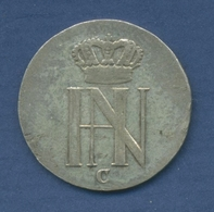 Westfalen Königreich 1/12 Taler 1809 C, Hieronymus Napoleon, J 13, Ss (m2277) - [ 1] …-1871 : Etats Allemands