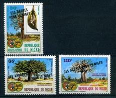 Niger MiNr. 953-55 Postfrisch MNH Naturschutz (PB2101 - Niger (1960-...)