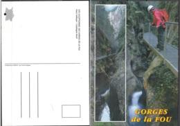 CPM France 66150 Corsavy Gorges De La Fou Haut Vallespir Neuf ** - Autres Communes