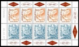 Monaco Kleinbogen MiNr. 2355-56 Postfrisch MNH Cept 1997 (O5185 - Zonder Classificatie