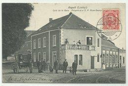 Aspelt Café De La Gare 1912 RRR!! - Ansichtskarten
