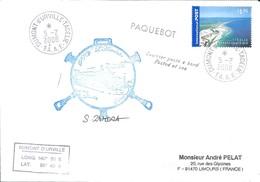 """TAAF - Dumont D'Urville-T.Adélie: Lettre """"L'Astrobale"""" Avec Timbre Australie N°2668 Fraser Island - 05/02/2008 - Lettres & Documents"""