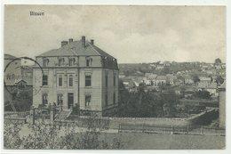 """Bissen Schulhaus? 1915 Nach Belgien """"Unzulässig Zurück"""" & """"Zurück Keine Vernindung"""" RRR!! - Ansichtskarten"""