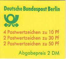 BERLIN  Markenheftchen MH 11 Ca OZ, Postfrisch - Blocchi