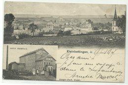 "Kleinbettingen Moulin Wagner & Co. 1905 Bahnpost ""Luxemburg-Kleinbettingen"" RR!! - Postales"