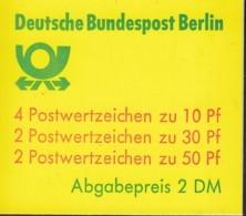BERLIN Markenheftchen MH 11 H OZ, Postfrisch **, Burgen Und Schlösser 1981 - [5] Berlino