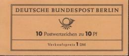 BERLIN Markenheftchen MH 3 A, Ndgz, Postfrisch **, Dürer 1962 - Blocchi