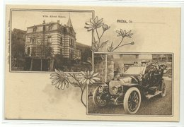 Wiltz Villa Albert Simon & Automobile Um 1910 RRR!!! - Wiltz