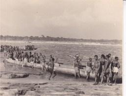 CONGO BELGE STANLEYVILLE Pêcheries Des WAGENIAS Août 1956  Photo Amateur Format Environ 7,5 Cm X 5,5 Cm - Afrique