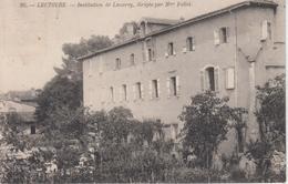 CPA Lectoure - Institution De Luzarey, Dirigée Par Mme Follet - Au Verso, Programme De La Fête De Fin D'année - Lectoure