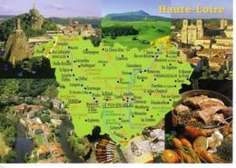 43 HAUTE LOIRE - Landkarten