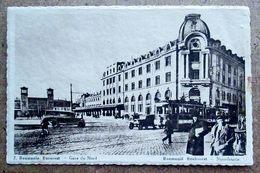 (K246) - 7  Roumanie - Bucarest - Gare Du Nord / Roemenië Boekarest - Noordstatie / Chocolat Martougin - Roumanie