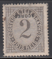 1882-87 Yvert Nº 51 MH ( Sobrecarga Invertida ) - Azores