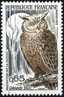 France 1972 - Mi 1787 - YT 1694  ( Eurasian Eagle-Owl ) MNH** - Frankreich