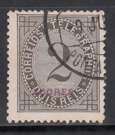 1882-87 Yvert Nº 51b, Sobrecarga Roja, - Azores