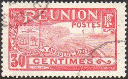 Réunion Obl. N°  89 - Vue -> Rade De Saint Denis 30 Rose Et Lilas-rose - Oblitérés