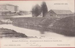 Spaanse Omwalling ANVERS EN 1860 Entrepot Fortifications Place St Jean Sint Jansplein Antwerpen (In Zeer Goede Staat) - Antwerpen