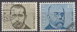 HELVETIA - SUISSE - SVIZZERA - 1971 - Lotto Di 2 Valori Usati: Yvert 886 E 889. - Usati