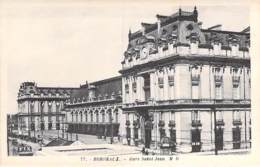 GARE - 33 - BORDEAUX : Gare Saint Jean - Vue Extéreiure - CPA CPSM Sépia - Gironde - Stations - Zonder Treinen