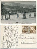 AK Krummhübel 1938, Baude Schlingelbaude Hampelbaude Riesengebirge Karpacz Gorny - Schlesien