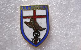 AS Gargiullo Genova Distintivi FootBall Soccer Pin Spilla Pins Italy - Calcio