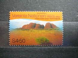 Nationalpark Uluru-Kata-Tjuta (Australia) # United Nations UN Vienna Austria 1999 MNH # Mi.279 UNESCO - Vienna – International Centre
