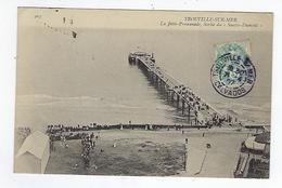 CPA 14 - Trouville - La Jetée Promenade - Sortie Du Santos Dumont - Trouville