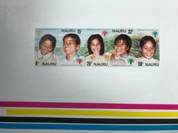 Nauru International Year Of The Child Proof Sheet - Nauru