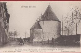 Spaanse Omwalling Anvers En 1860 Rempart St. Georges Sint Jorispoort Poudrière Antwerpen (In Zeer Goede Staat) 1903 - Antwerpen