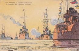 **   Fêtes De La L M C La Grande Semaine Maritime -- Neuve Excellent état - Guerre