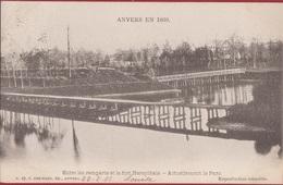 Spaanse Omwalling Anvers En 1860 Entre Les Remparts Et Le Fort Herenthals Stadspark Antwerpen (In Zeer Goede Staat) - Antwerpen