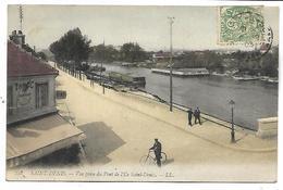 SAINT DENIS - Vue Prise Du Pont De L'Ile Saint Denis - Saint Denis