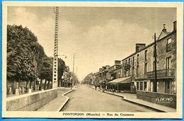 PONTORSON  Rue Du Couesnon - Non écrite . Excellent état - Pontorson