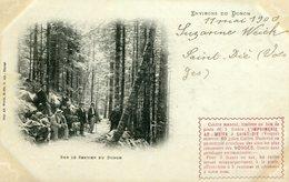 ENVIRONS De DONON - SUR LE SENTIER Du DONON En 1900 -  CARTE PRECURSEUR  - - Francia