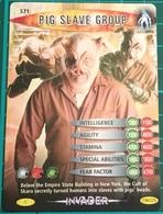 Doctor Dr Who ~ Battles In Time ~ No. 571 ~ Pig Slave Group ~ Invader ~ 2007 - Cinema & TV