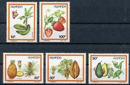 Ruanda MiNr. 1370-74 Postfrisch MNH Landwirtschaft (NA616 - Ohne Zuordnung