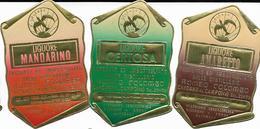 7-DISTILLERIE ROMEO COLOMBO CARDANO AL CAMPO(VA)LOTTO DI 7 ETICHETTE NUOVE E PERFETTE - Collezioni & Lotti