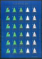 Färöer Kleinbogen Weihnachtsmarken 1990 Postfrisch MNH (Wei69 - Färöer Inseln