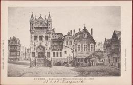 Anvers L' Ancienne Maison Scabinale En 1565 G. Hermans Nr. 60 Antwerpen (In Zeer Goede Staat) - Antwerpen