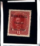 "6700B) ITALIA -15H-Francobolli Austriaci Sovrastampati ""Regno D'Italia Trentino 3 Novembre 1918"" MLH* - Trentino"
