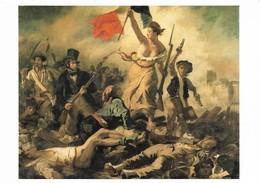 Delacroix La Liberté Guidant Le Peuple (2 Scans) - Pintura & Cuadros