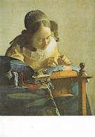 Musée Du Louvre Vermeer La Dentellière (2 Scans) - Pintura & Cuadros